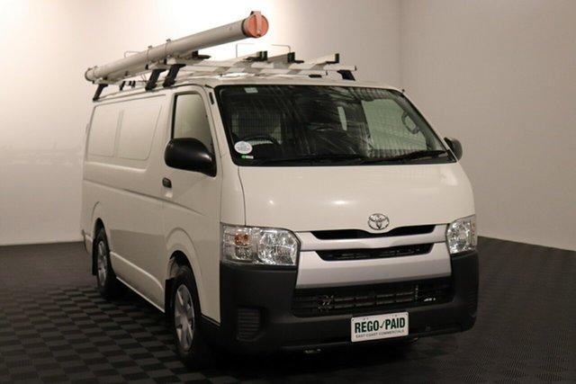Used Toyota HiAce KDH201R LWB Acacia Ridge, 2016 Toyota HiAce KDH201R LWB White 4 speed Automatic Van