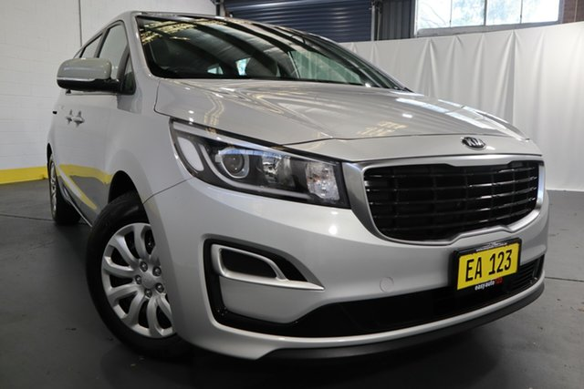Used Kia Carnival YP MY18 S Castle Hill, 2018 Kia Carnival YP MY18 S Silver 6 Speed Sports Automatic Wagon
