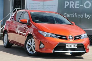 2013 Toyota Corolla ZRE182R Ascent Sport S-CVT Inferno 7 Speed Automatic Hatchback.