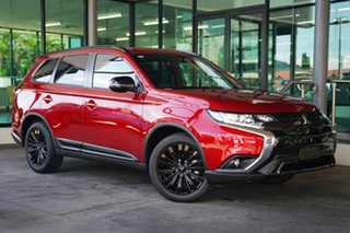 2021 Mitsubishi Outlander ZL MY21 Black Edition 2WD Brilliant Red 6 Speed Constant Variable Wagon.