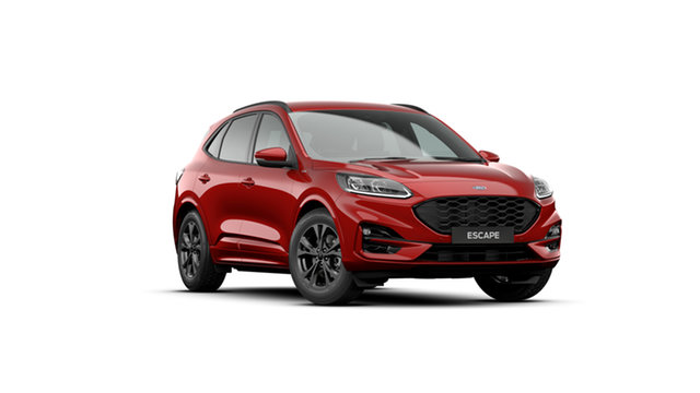 New Ford Escape ZH 2021.25MY ST-Line Clare, 2021 Ford Escape ZH 2021.25MY ST-Line Red 8 Speed Sports Automatic SUV