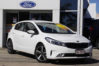 2018 Kia Cerato YD MY18 Sport White 6 Speed Sports Automatic Hatchback.