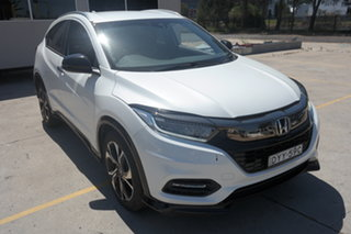 2018 Honda HR-V MY18 RS White 1 Speed Constant Variable Hatchback.