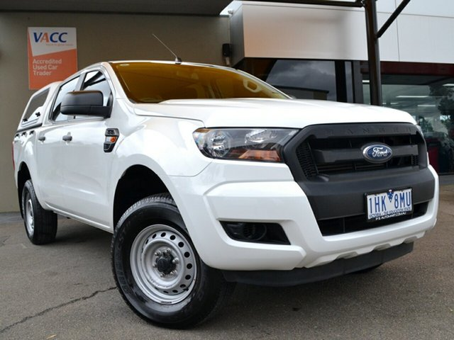 Used Ford Ranger PX MkII XL Hi-Rider Fawkner, 2016 Ford Ranger PX MkII XL Hi-Rider White 6 Speed Sports Automatic Utility