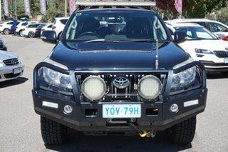 2012 Toyota Landcruiser Prado KDJ150R VX Blue 5 Speed Sports Automatic Wagon.