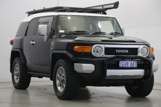 2013 Toyota FJ Cruiser GSJ15R Black 5 Speed Automatic Wagon