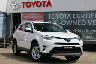 2017 Toyota RAV4 ZSA42R GX 2WD Glacier White 7 Speed Constant Variable Wagon.