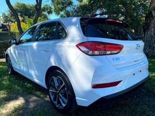 2021 Hyundai i30 PD.V4 MY21 Elite Polar White 6 Speed Sports Automatic Hatchback