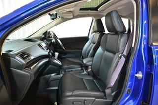 2015 Honda CR-V RM Series II MY16 VTi-L Blue 5 Speed Sports Automatic Wagon