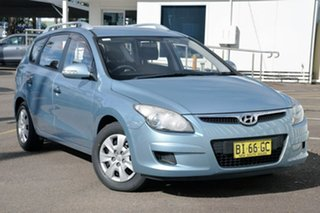 2010 Hyundai i30 FD MY11 Sportswagon cw Wagon Blue 4 Speed Automatic Wagon.