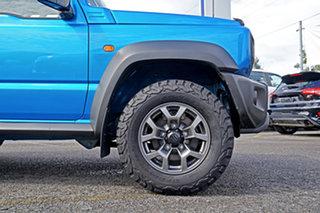 2019 Suzuki Jimny JB74 GLX Blue 5 Speed Manual Hardtop