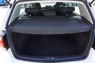 2011 Volkswagen Golf VI MY11 BlueMOTION White 5 Speed Manual Hatchback