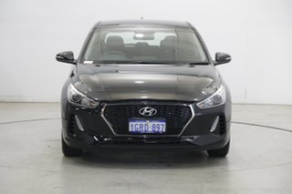 2018 Hyundai i30 PD2 MY18 Active Phantom Black 6 Speed Sports Automatic Hatchback.