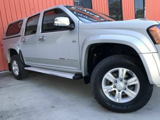 2011 Holden Colorado RC MY11 LT-R Crew Cab Silver 5 Speed Manual Utility