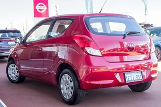 2015 Hyundai i20 PB MY15 Active Red 4 Speed Automatic Hatchback.