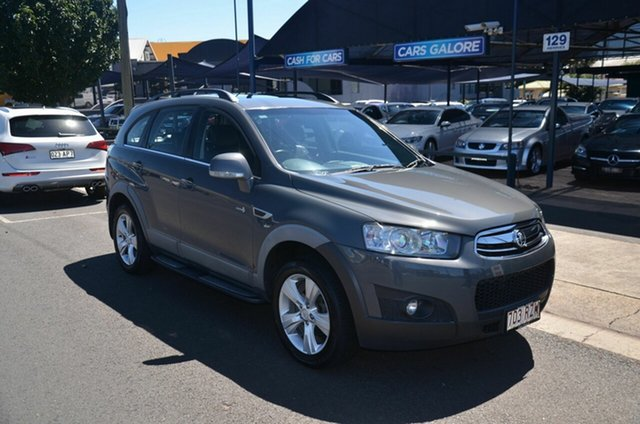 Used Holden Captiva CG Series II 7 CX (4x4) Toowoomba, 2011 Holden Captiva CG Series II 7 CX (4x4) Grey 6 Speed Automatic Wagon
