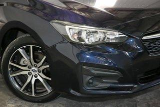 2017 Subaru Impreza G5 MY17 2.0i CVT AWD Blue 7 Speed Constant Variable Sedan.