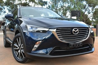 2015 Mazda CX-3 DK2W7A Akari SKYACTIV-Drive Blue 6 Speed Sports Automatic Wagon