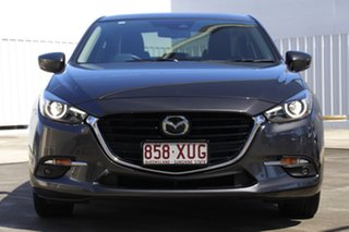 2017 Mazda 3 BN5236 SP25 SKYACTIV-MT Astina Machine Grey 6 Speed Manual Sedan