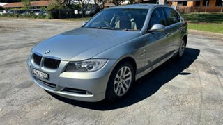 2006 BMW 3 Series E90 323i Steptronic Blue 6 Speed Sports Automatic Sedan.