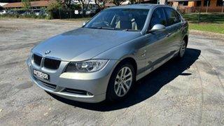 2006 BMW 3 Series E90 323i Steptronic Blue 6 Speed Sports Automatic Sedan.