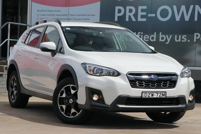 Pre-Owned Subaru XV MY19 2.0I-L Guildford, 2019 Subaru XV MY19 2.0I-L White Continuous Variable Wagon