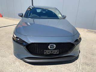 2021 Mazda 3 BP2H7A G20 SKYACTIV-Drive Evolve Polymetal Grey 6 Speed Sports Automatic Hatchback