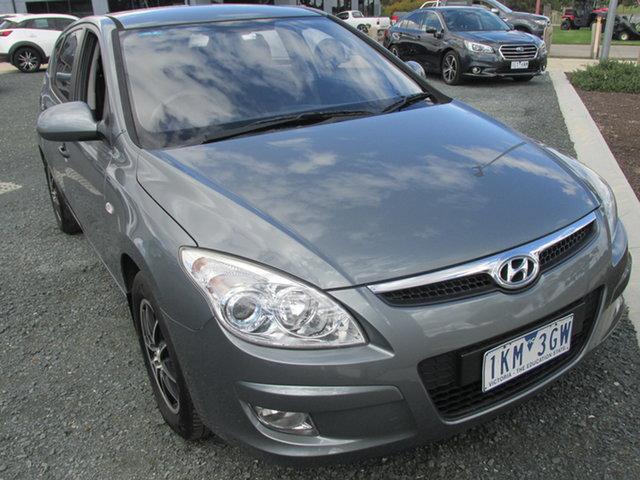 Used Hyundai i30 FD MY09 SX Echuca, 2009 Hyundai i30 FD MY09 SX Grey 4 Speed Automatic Hatchback