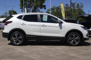 2017 Nissan Qashqai J11 Series 2 ST-L X-tronic Ivory Pearl 1 Speed Constant Variable Wagon.