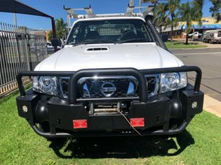2014 Nissan Patrol MY11 Upgrade DX (4x4) White 5 Speed Manual Leaf Cab Chassis