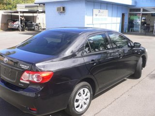 2013 Toyota Corolla ZRE152R Ascent Black 4 Speed Automatic Sedan.