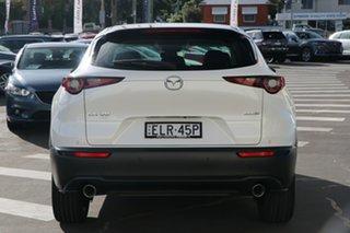 2020 Mazda CX-30 DM4WLA X20 SKYACTIV-Drive i-ACTIV AWD Astina Snowflake White Pearl 6 Speed