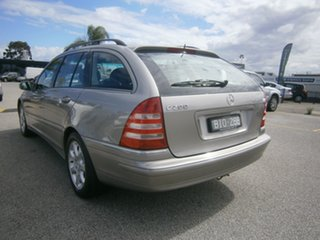 2004 Mercedes-Benz C-Class S203 MY2003 C200 Kompressor Elegance Gold 5 Speed Sports Automatic Wagon