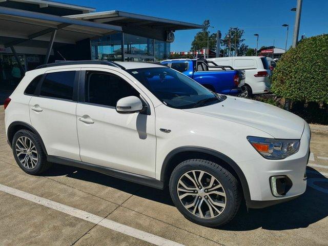 Used Mitsubishi ASX XB MY15 LS 2WD Yamanto, 2015 Mitsubishi ASX XB MY15 LS 2WD White 6 Speed Constant Variable Wagon