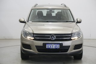 2013 Volkswagen Tiguan 5N MY14 118TSI DSG 2WD Beige 6 Speed Sports Automatic Dual Clutch Wagon.