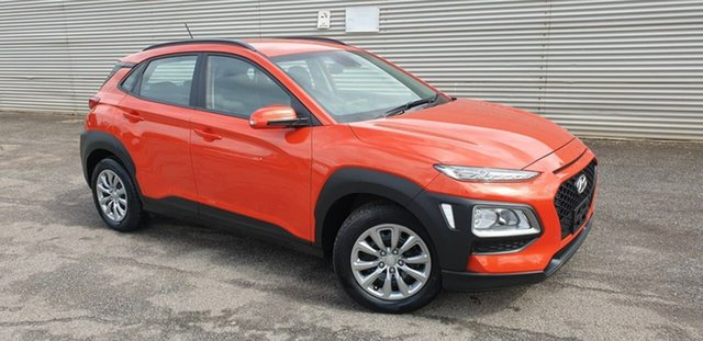 Used Hyundai Kona OS.2 MY19 Go 2WD Elizabeth, 2019 Hyundai Kona OS.2 MY19 Go 2WD Orange 6 Speed Sports Automatic Wagon