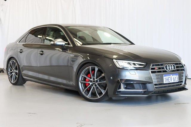 Used Audi S4 B9 8W MY17 Tiptronic Quattro Wangara, 2017 Audi S4 B9 8W MY17 Tiptronic Quattro Grey 8 Speed Sports Automatic Sedan