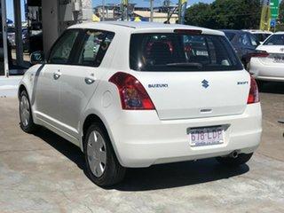 2008 Suzuki Swift RS415 GLX White 4 Speed Automatic Hatchback.