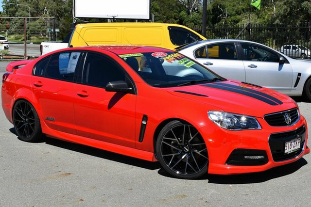 Used Holden Commodore VF MY15 SS Underwood, 2015 Holden Commodore VF MY15 SS Red 6 Speed Manual Sedan
