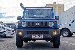 2019 Suzuki Jimny JB74 GLX Blue 5 Speed Manual Hardtop.