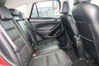 2012 Mazda CX-5 KE1071 Grand Touring SKYACTIV-Drive AWD Zeal Red 6 Speed Sports Automatic Wagon