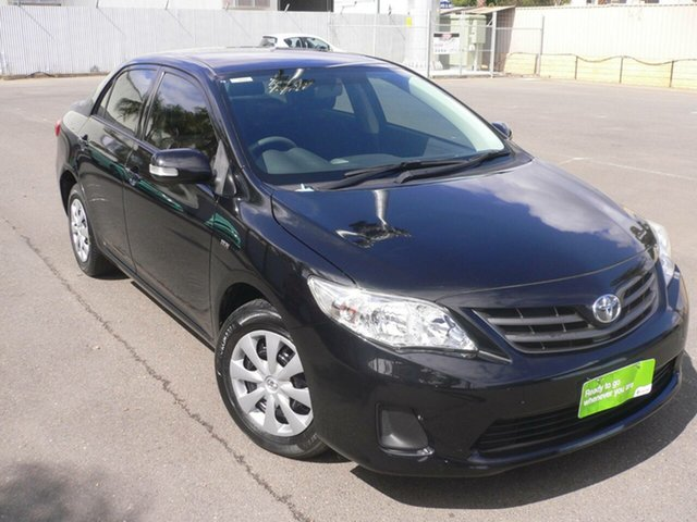 Used Toyota Corolla ZRE152R Ascent St Marys, 2013 Toyota Corolla ZRE152R Ascent Black 4 Speed Automatic Sedan