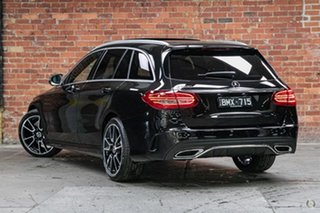 2021 Mercedes-Benz C-Class S205 801MY C200 Estate 9G-Tronic Obsidian Black 9 Speed Sports Automatic.