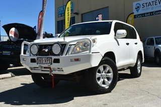 2010 Toyota Landcruiser Prado KDJ150R GX (4x4) White 6 Speed Manual Wagon.