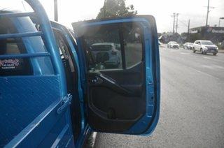 2007 Nissan Navara D40 ST-X (4x4) Blue 6 Speed Manual Dual Cab Pick-up