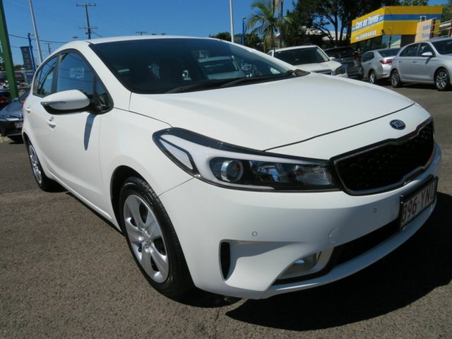 Used Kia Cerato YD MY18 S Mount Gravatt, 2018 Kia Cerato YD MY18 S White 6 Speed Sports Automatic Hatchback