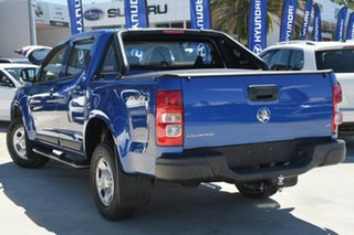2018 Holden Colorado RG MY18 LS Crew Cab Blue 6 Speed Sports Automatic Cab Chassis.