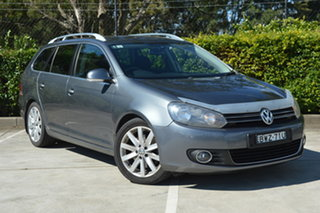 2011 Volkswagen Golf VI MY12 103TDI DSG Comfortline Grey 6 Speed Sports Automatic Dual Clutch Wagon.