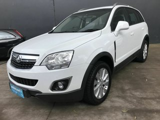 2014 Holden Captiva CG MY13 5 LT (FWD) White 6 Speed Automatic Wagon.