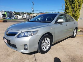 2011 Toyota Camry AHV40R Hybrid Silver 1 Speed Constant Variable Sedan Hybrid